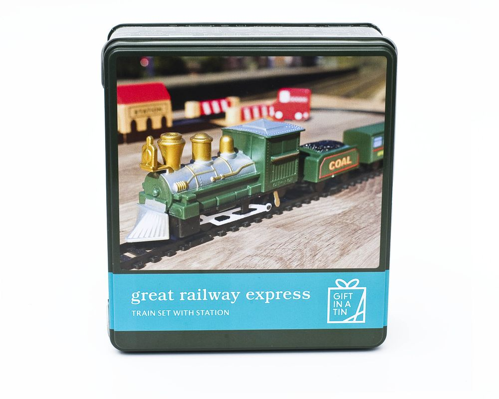 Great Railway Express Train in a tin